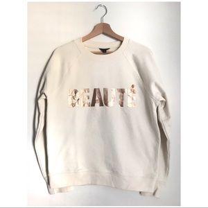 "J. Crew Sweaters - J.Crew ""Beauté"" Sweatshirt"